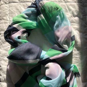 Worn once! LOFT lightweight scarf
